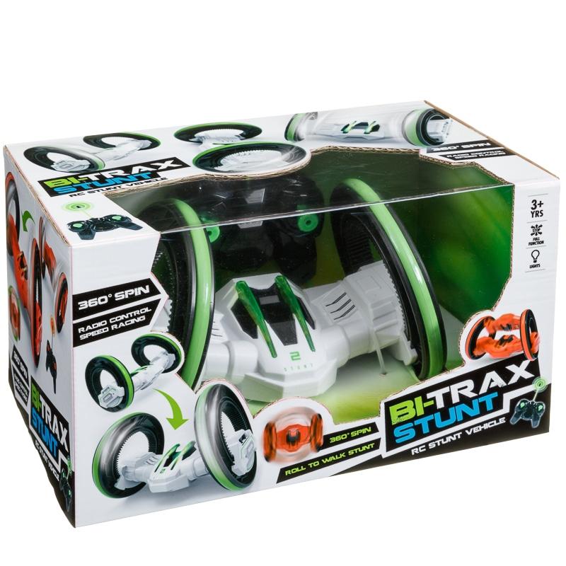 Bi Trax Radio Controlled Stunt Vehicle Toys Cars B Amp M