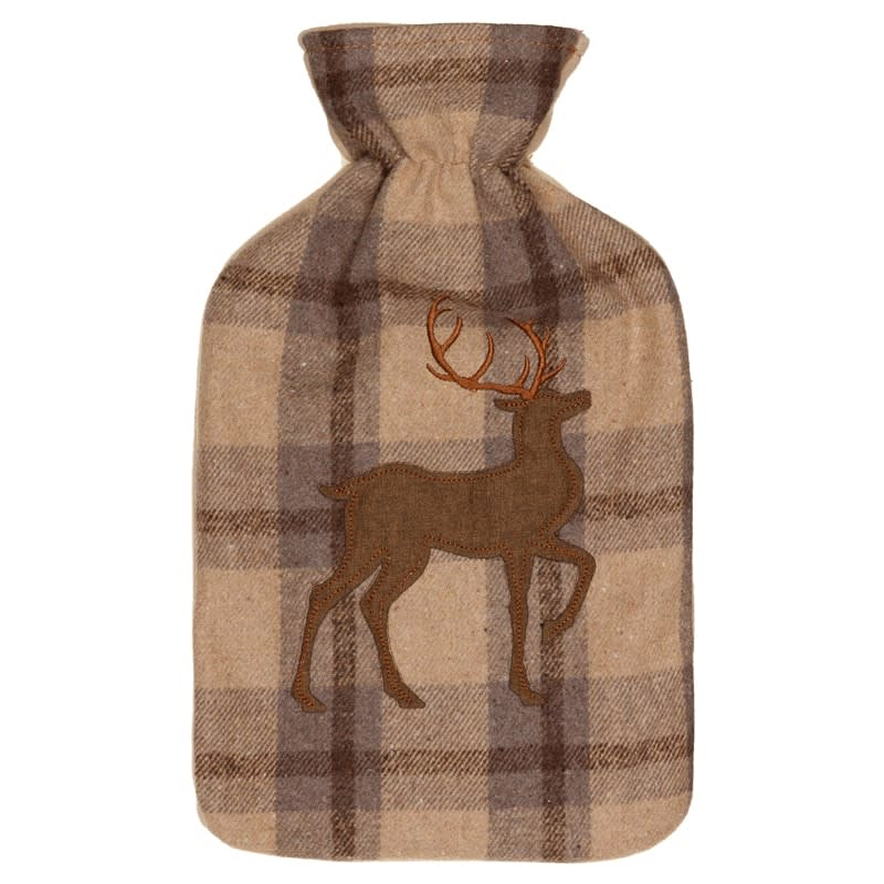 Heritage Collection Hot Water Bottle 2L - Brown Stag