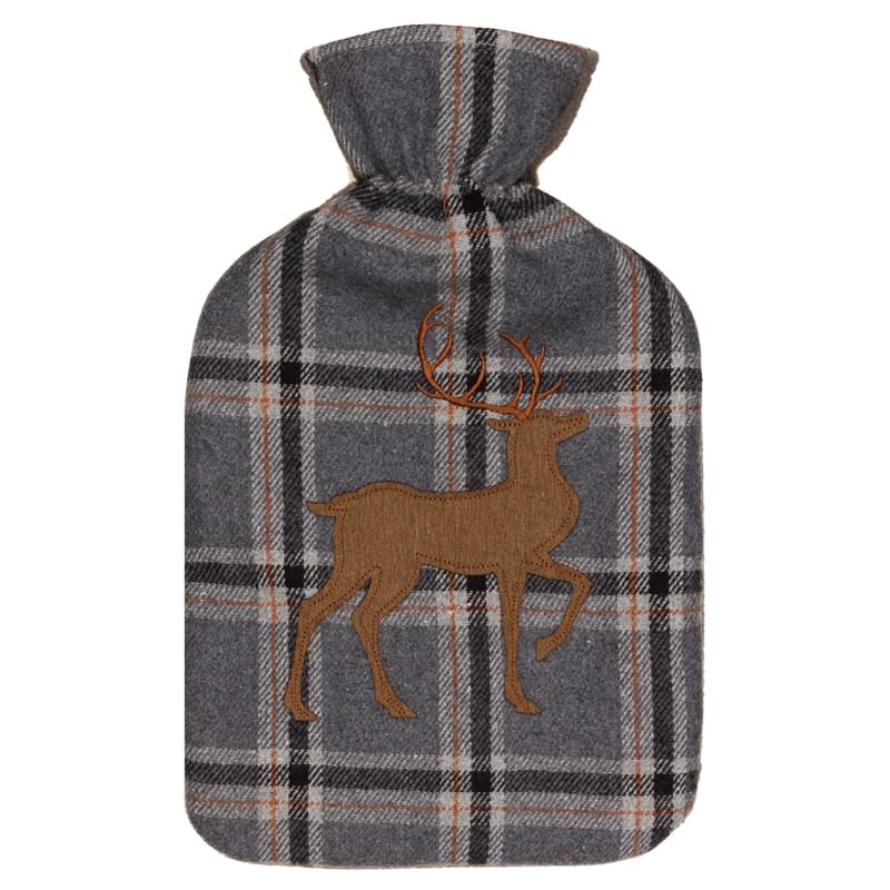 Heritage Collection Hot Water Bottle 2L - Grey Stag