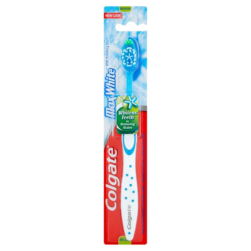 Colgate Max White Toothbrush - Medium