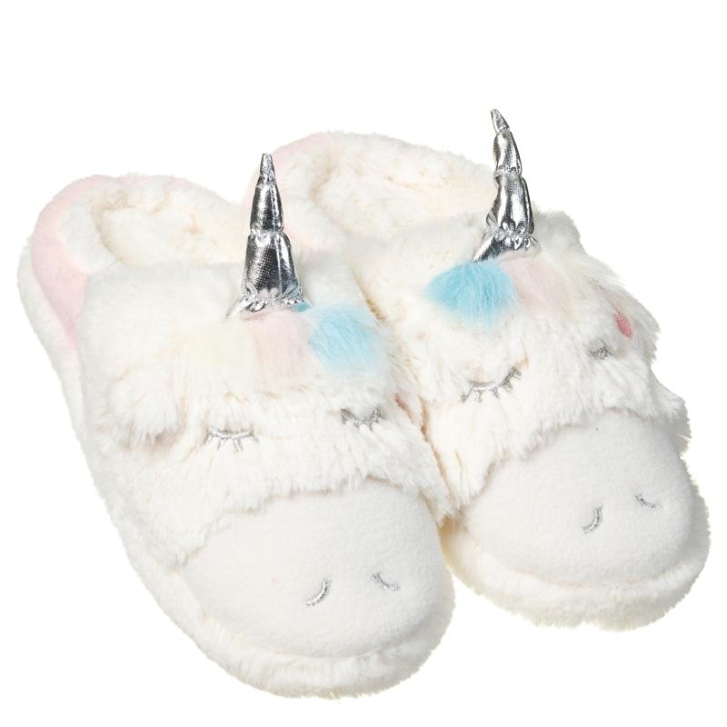 Ladies Unicorn Slippers Ladies Clothing B Amp M