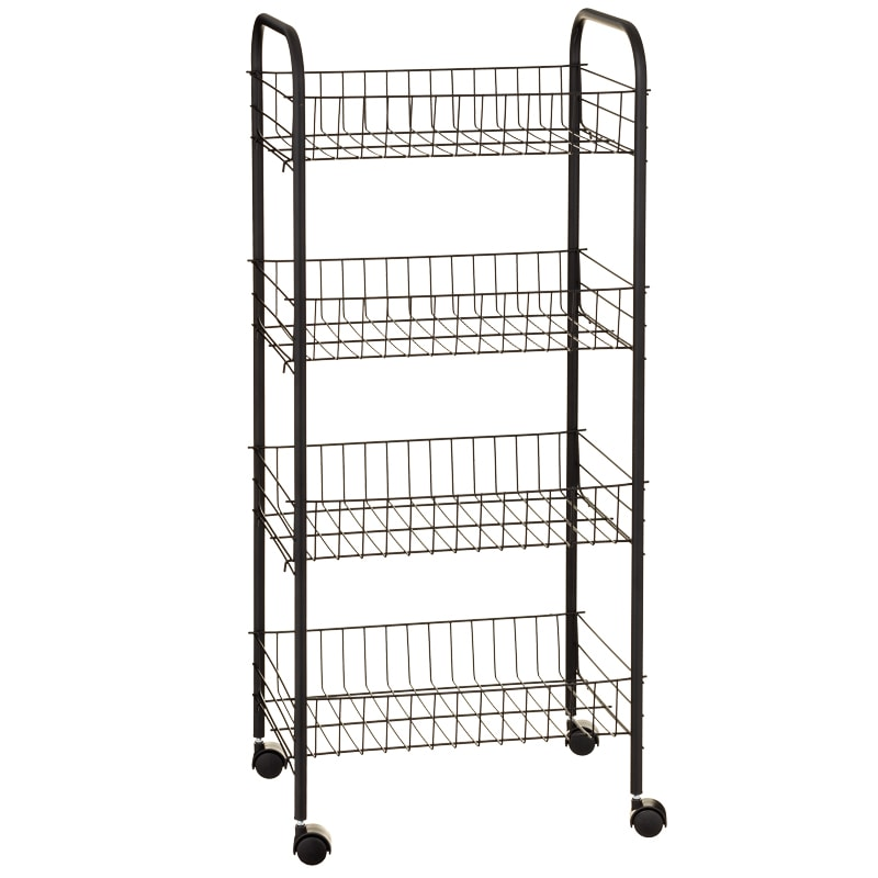 Beldray 4 Tier Multipurpose Trolley - Black
