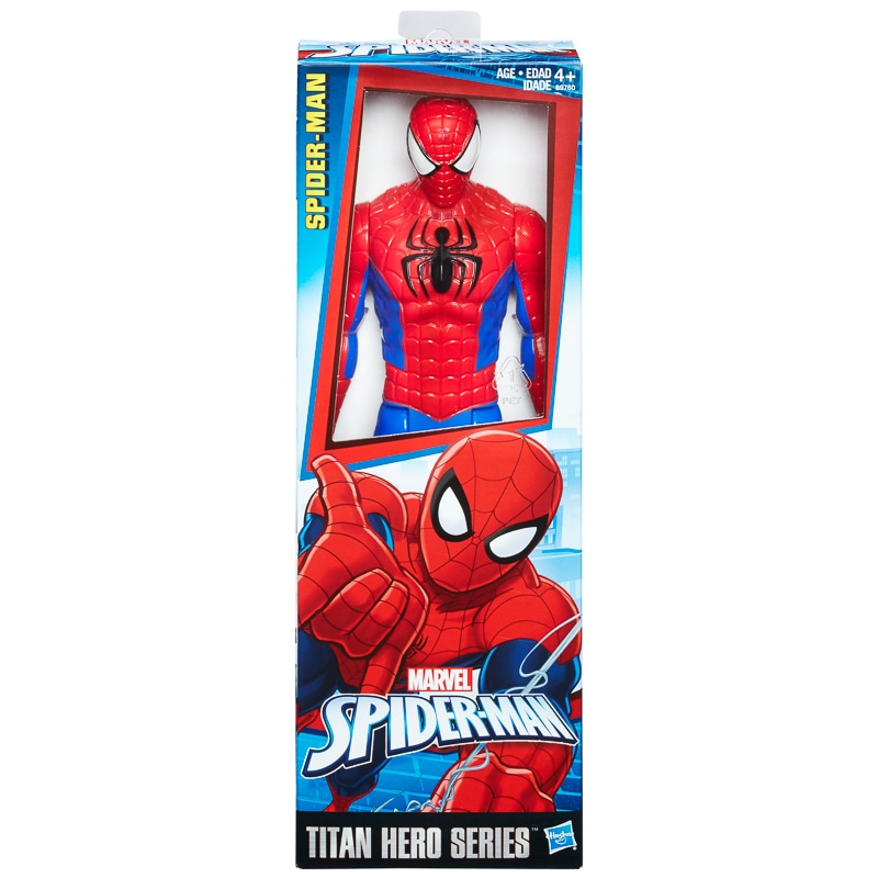 marvel spider man titan hero series action figure toys b m