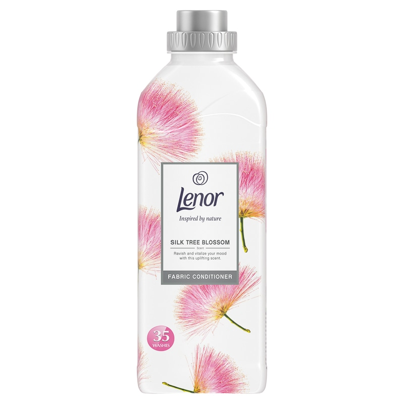 Lenor Fabric Conditioner Silk Tree Blossom 875ml Laundry