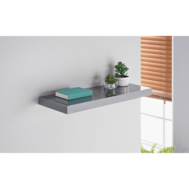 Norsk High Gloss Shelves 60cm