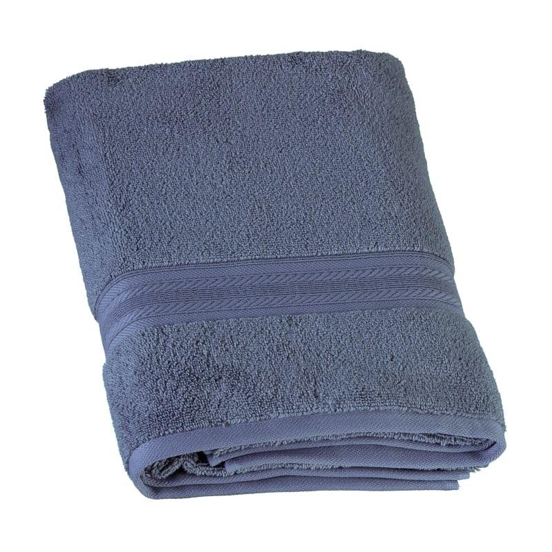 Signature Bath Towel - Denim | Towels - B&M