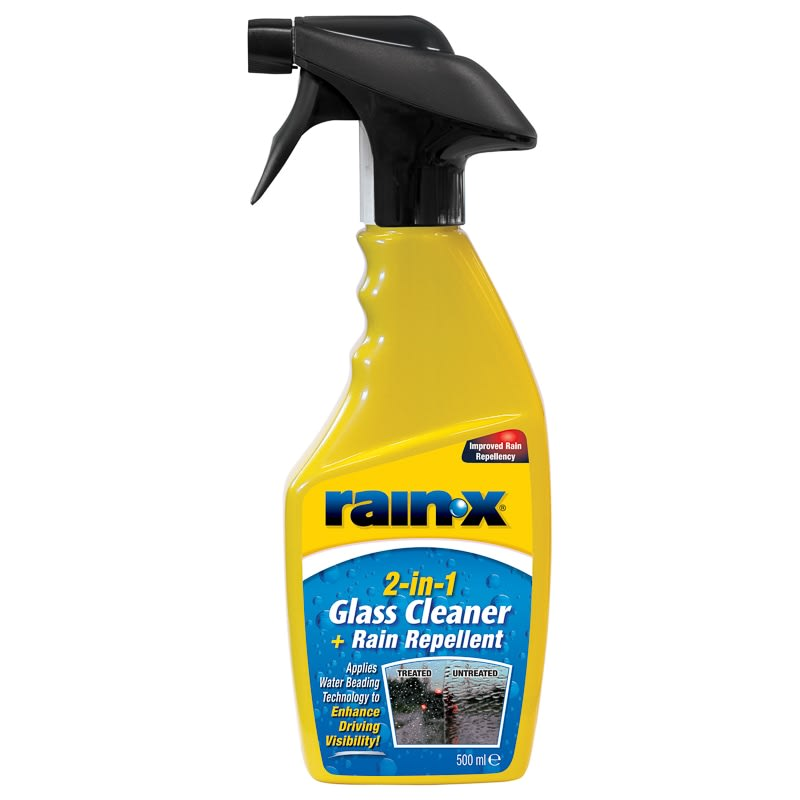 Rain-X 2-in-1 Glass Cleaner 500ml
