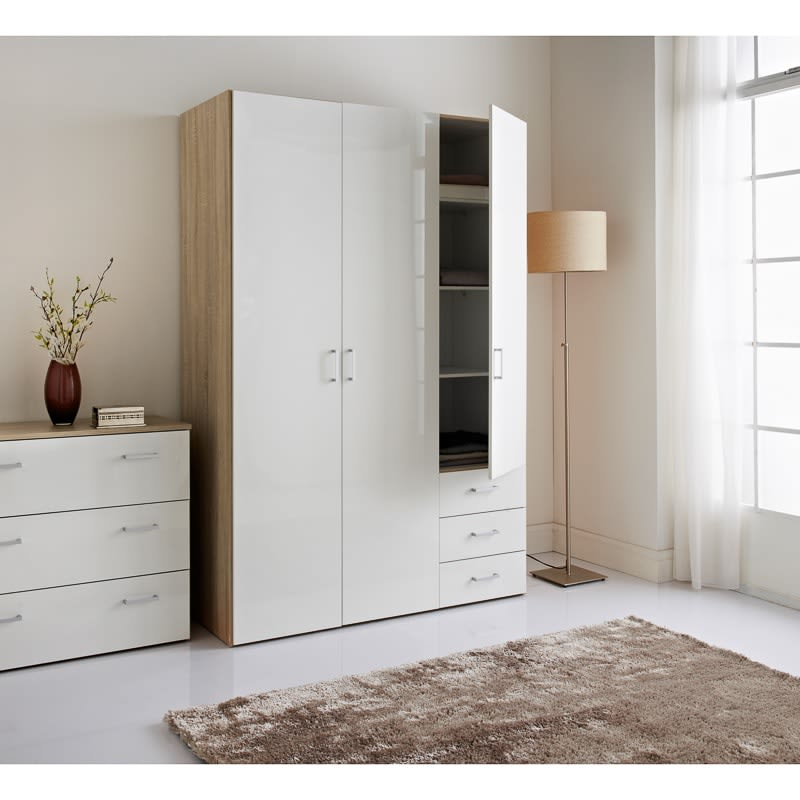 Norvik 3 Door Wardrobe