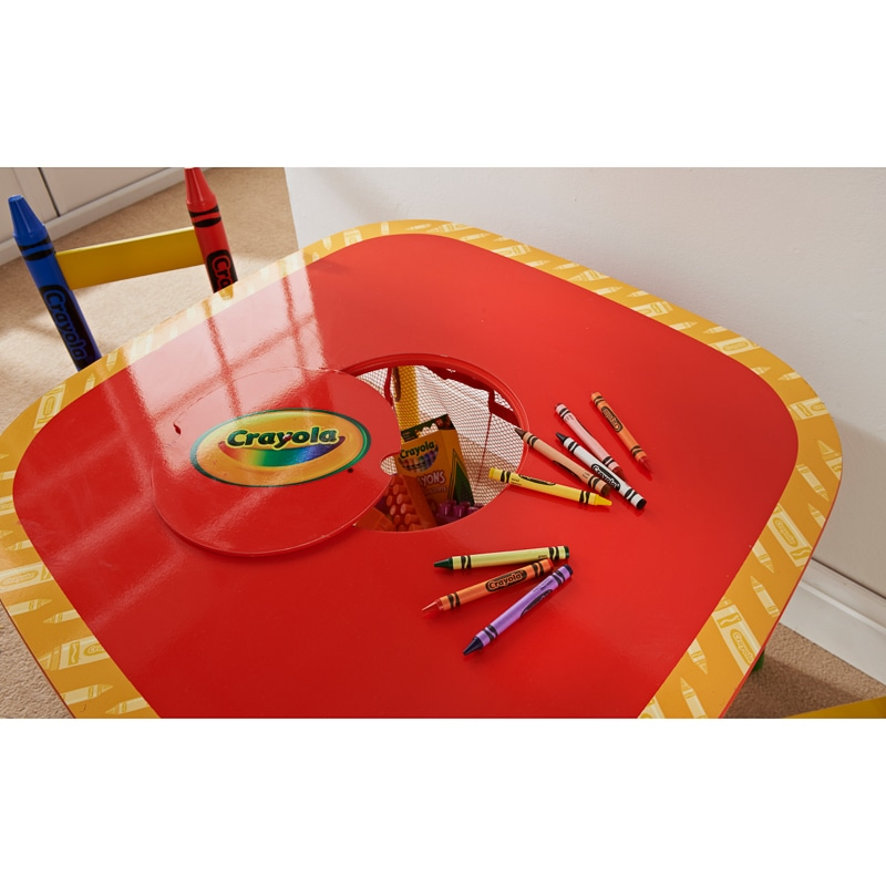 Crayola Kids Table & Chairs 3pc