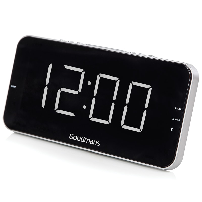 goodmans alarm clock w am fm radio alarm clocks b m. Black Bedroom Furniture Sets. Home Design Ideas