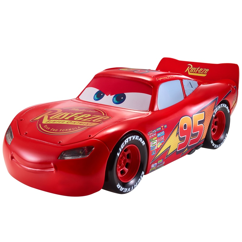 Disney Pixar Cars Movie Moves Lightning McQueen | Toys - B&M