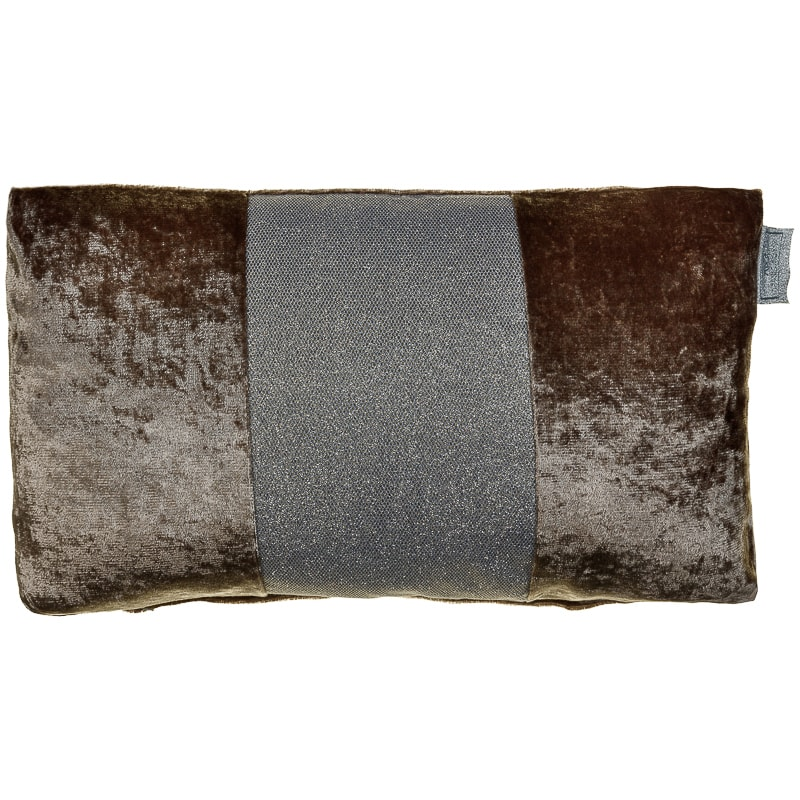 6a5f8a4a85 Sparkle Crushed Velvet Cushion - Champagne