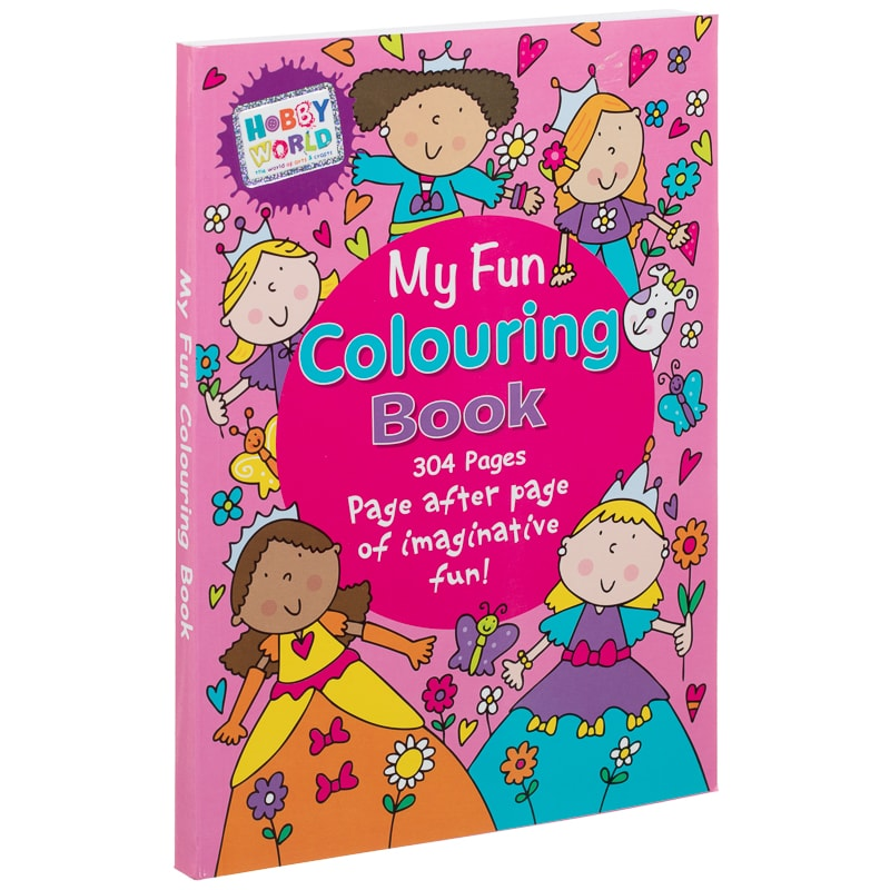 Hobby World My Fun Colouring Book
