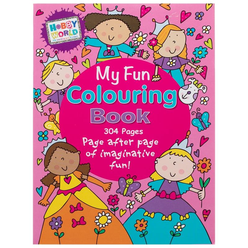 Hobby World My Fun Colouring Book