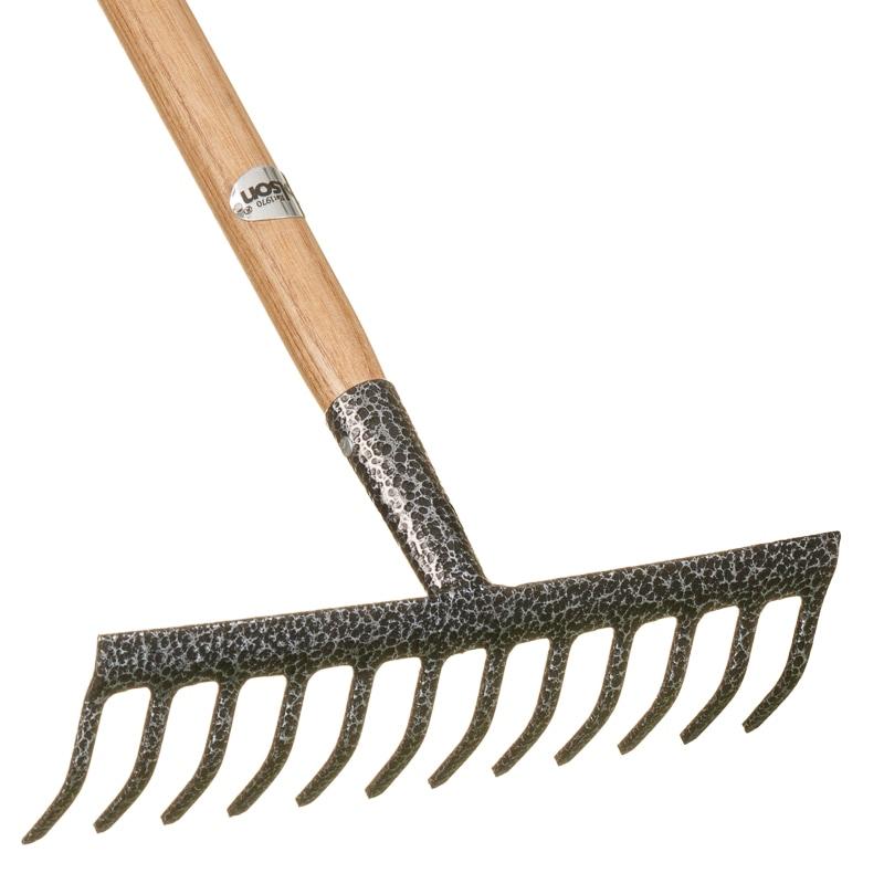 Rolson ash wood garden rake gardening tools b m for Gardening tools description