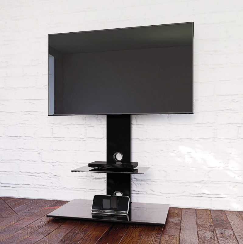 Blaupunkt Tv Stand With Brackets Black Furniture B Amp M