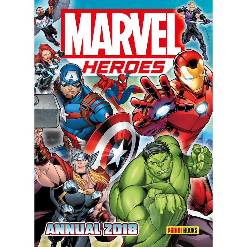 Marvel Heroes Annual 2018 Kids Books B Amp M