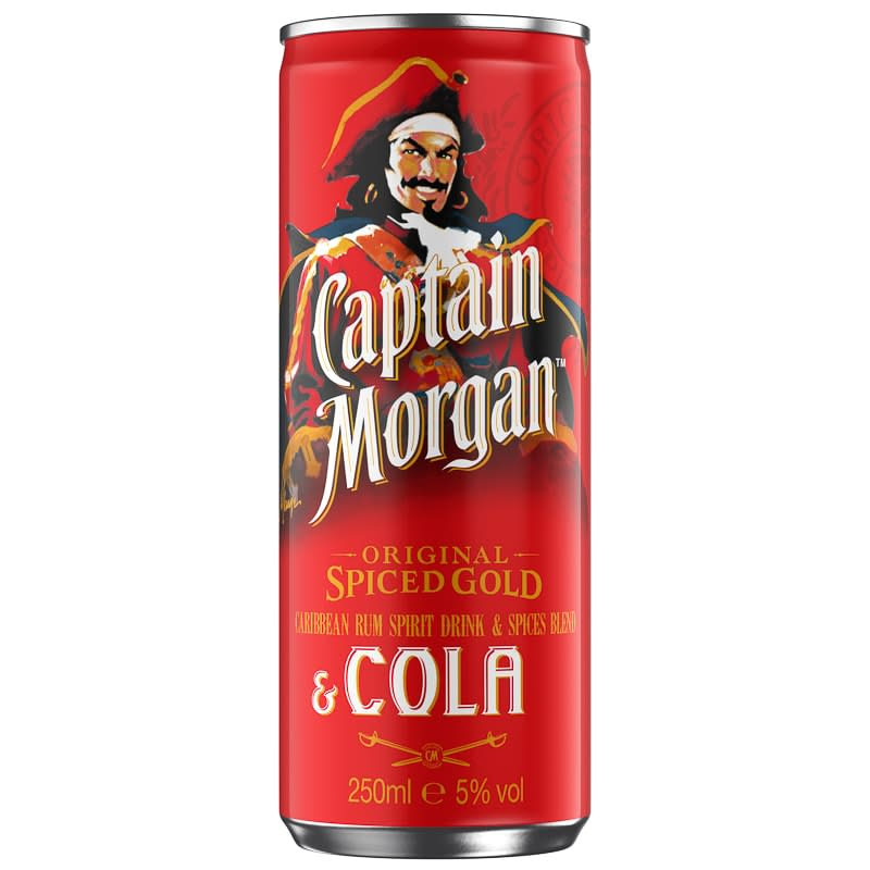 Captain Morgan & Cola 250ml