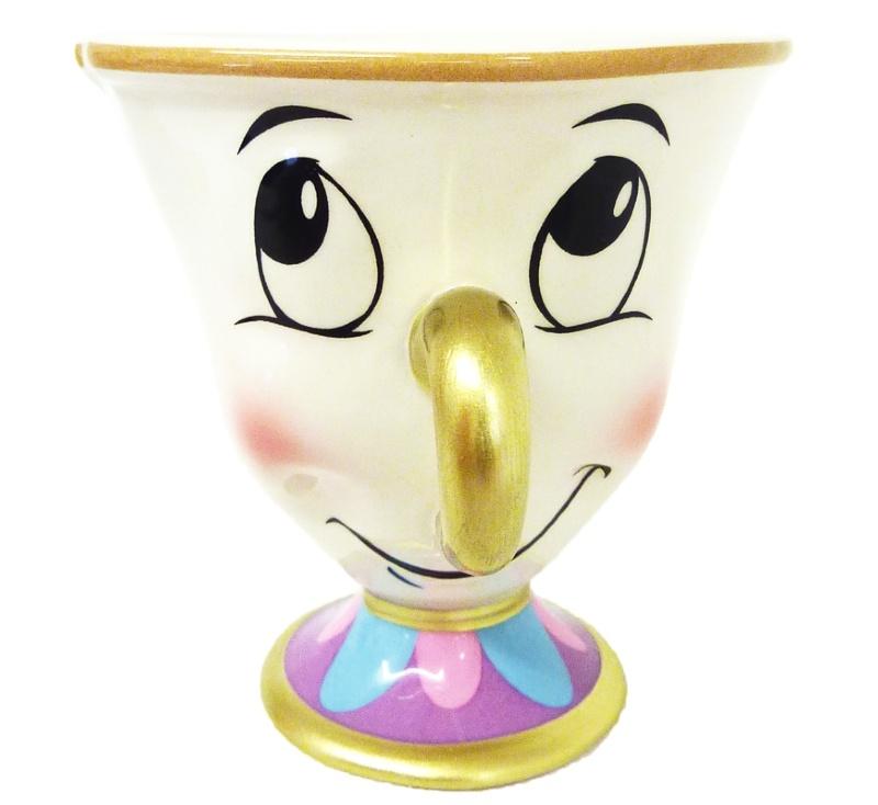 Disney Chip Character Mug Beauty And The Beast B Amp M