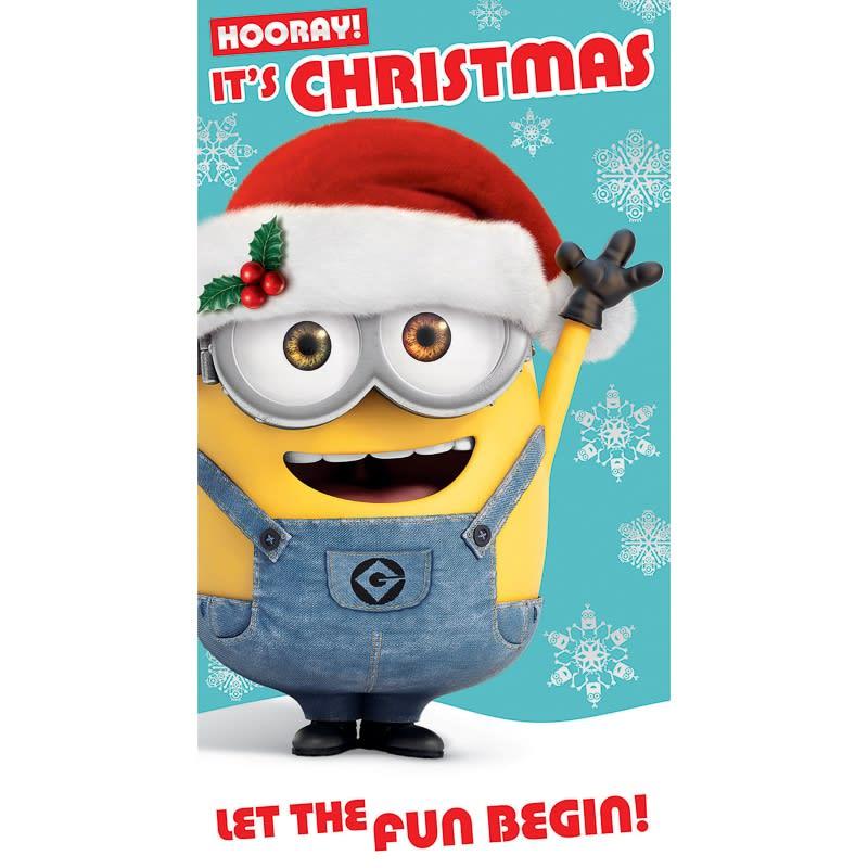 Minions - Christmas Card | Greetings Cards - B&M