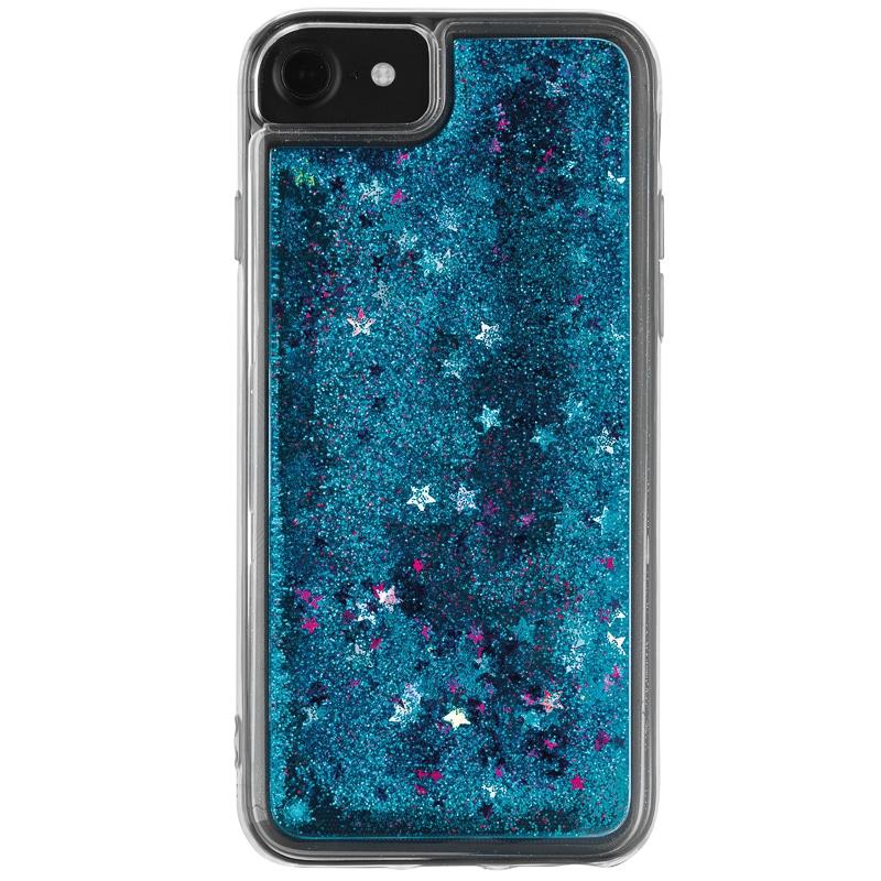 Intempo Glitter Iphone 6 7 Phone Case Blue B Amp M
