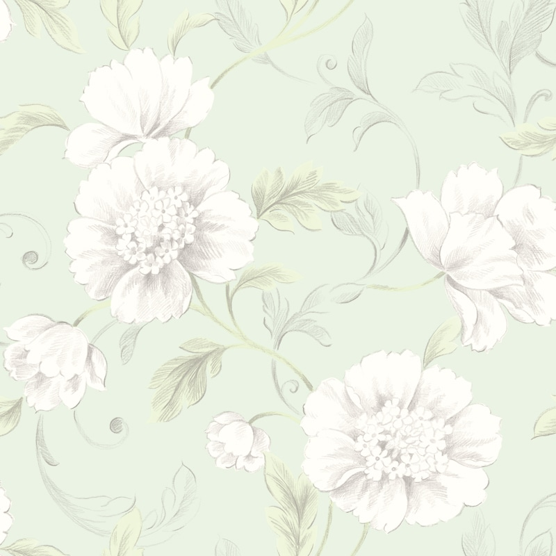 Boutique Wallpaper Green Wallpaper B Amp M