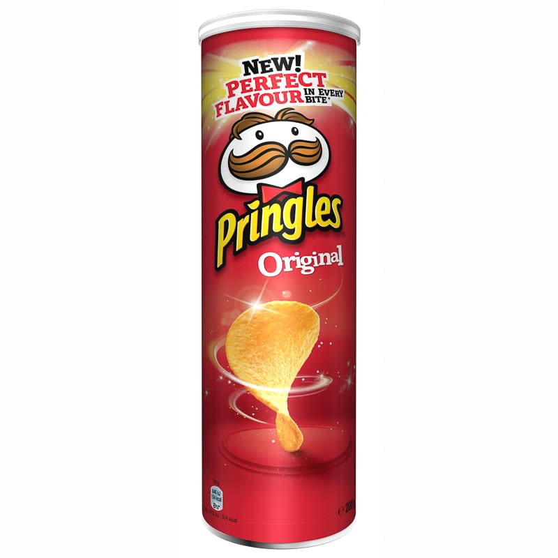 Pringles Original 200g Food Crisps B Amp M