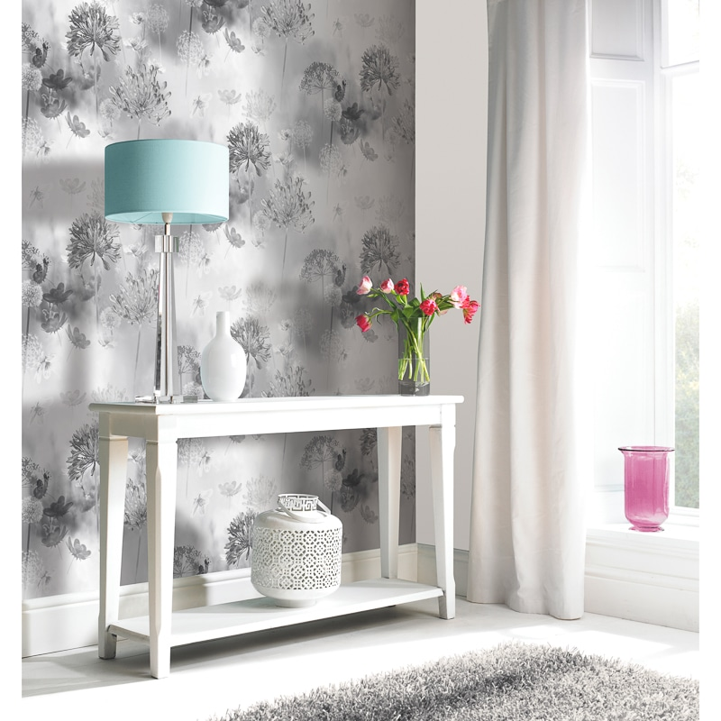 Spring Meadow Wallpaper Mono Wallpaper B Amp M