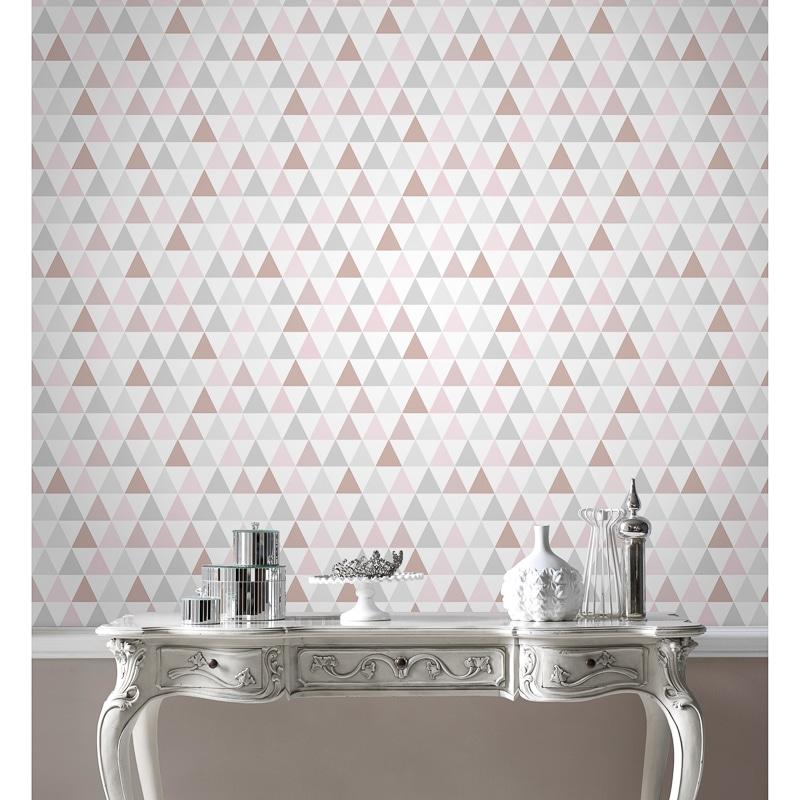 Tarek Rose Gold Wallpaper Wallpaper B Amp M