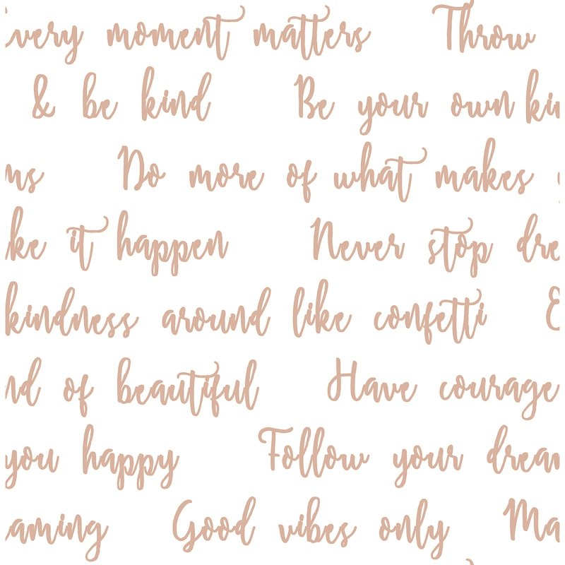 Good Vibes Quotes Wallpaper Rose Gold Wallpaper B Amp M