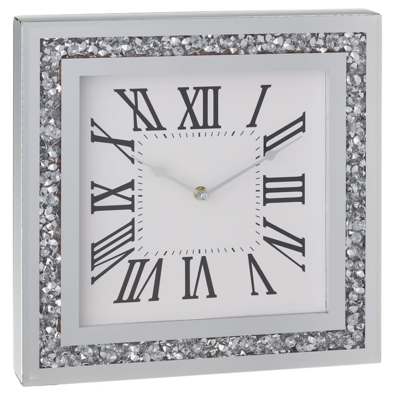 Karina Bailey Loose Diamond Wall Clock Gifts For Home B Amp M