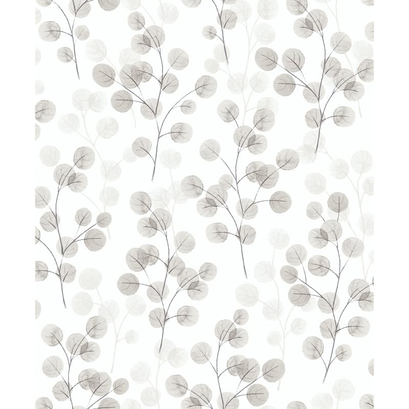 Natasha Floral Wallpaper - Grey | Wallpaper - B&M