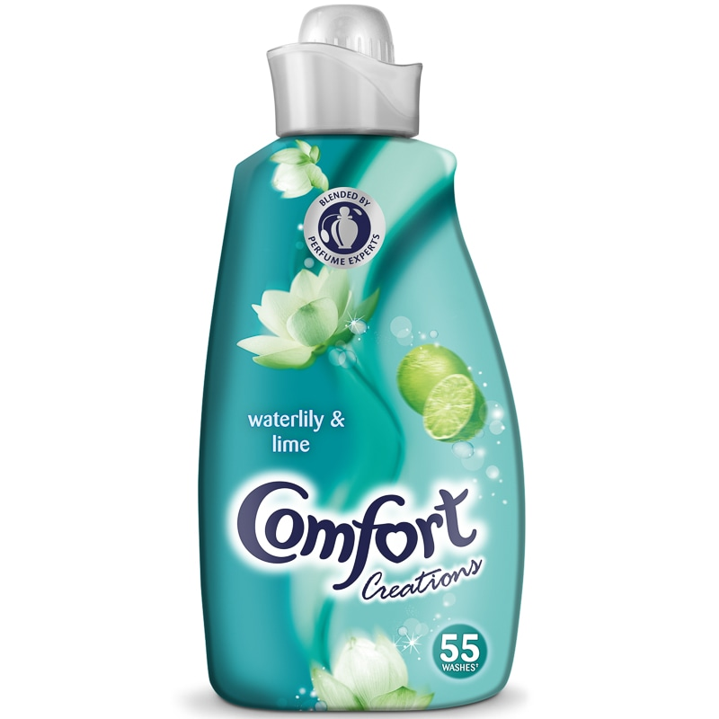 Comfort Creations Waterlily Amp Lime 1 9l Fabric Conditioner