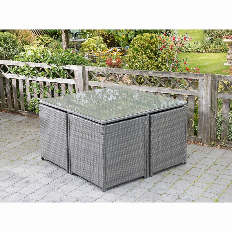 Sorrento Cube Patio Set 5pc Garden Furniture B Amp M