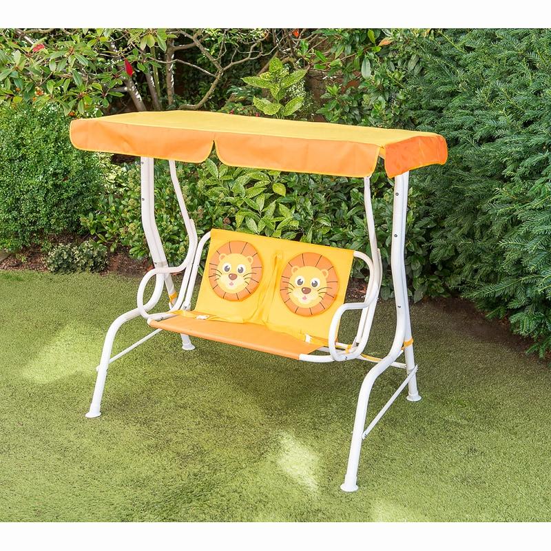 childrens 2 seater hammock lion garden furniture b m. Black Bedroom Furniture Sets. Home Design Ideas