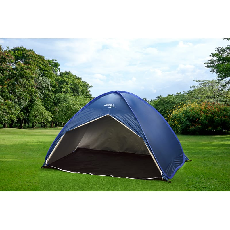 331280-c&ing-pop-up-tent-blue  sc 1 st  Bu0026M & Outdoor Adventure 2-3 Person Pop Up Tent - Navy | Camping - Bu0026M