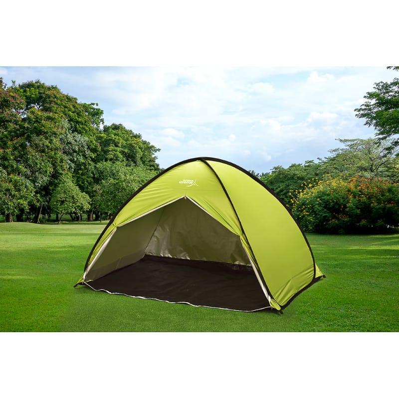 331280-c&ing-pop-up-tent-green  sc 1 st  Bu0026M & Outdoor Adventure 2-3 Person Pop Up Tent - Green | Camping - Bu0026M