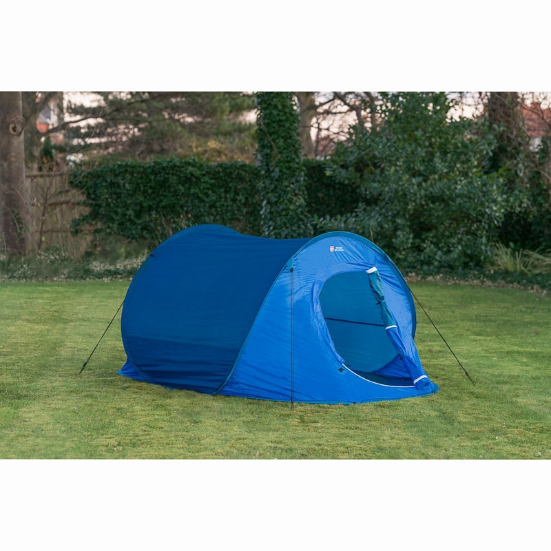 331281-swiss-military-3-4-person-pop-up-  sc 1 st  Bu0026M & Swiss Military 3-4 Person Pop-Up Tent - Navy | Camping - Bu0026M