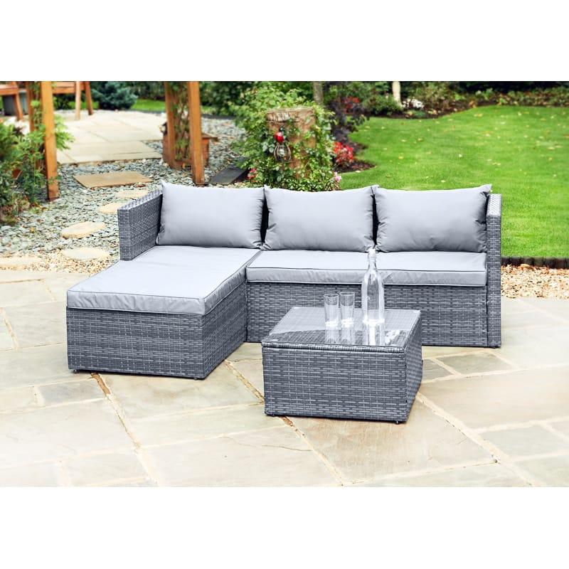 sorrento corner sofa set garden furniture b m. Black Bedroom Furniture Sets. Home Design Ideas