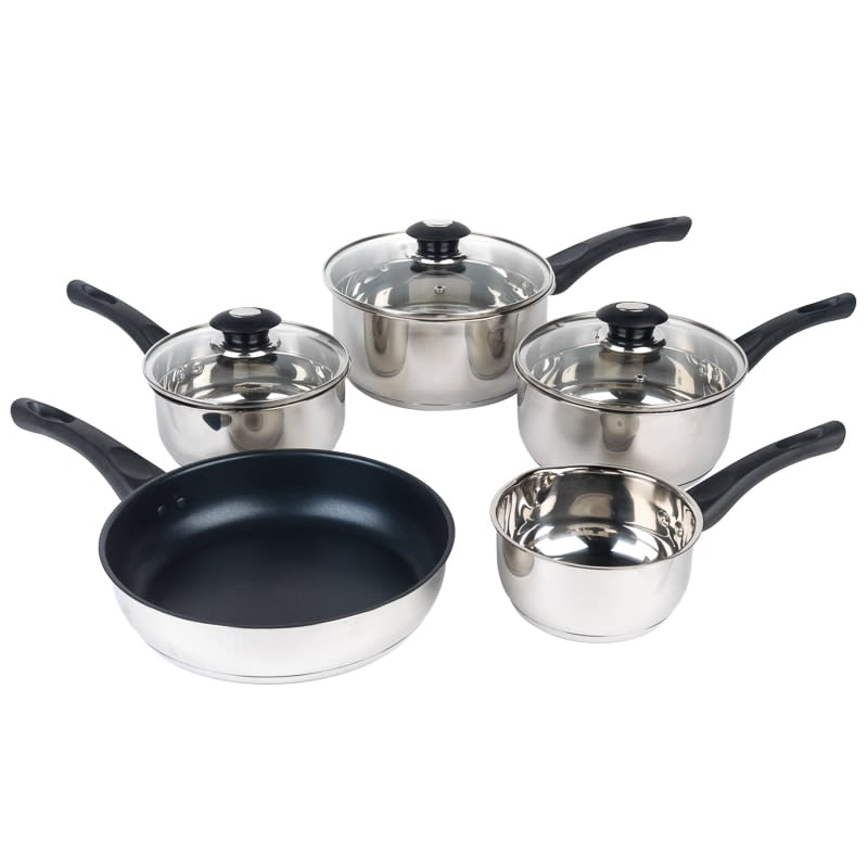 Russell Hobbs Stainless Steel Pan Set 5pk
