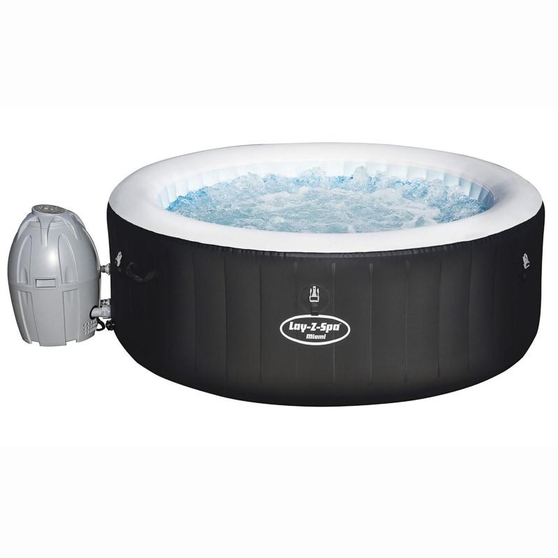 lay z spa miami hot tub garden furniture b m. Black Bedroom Furniture Sets. Home Design Ideas