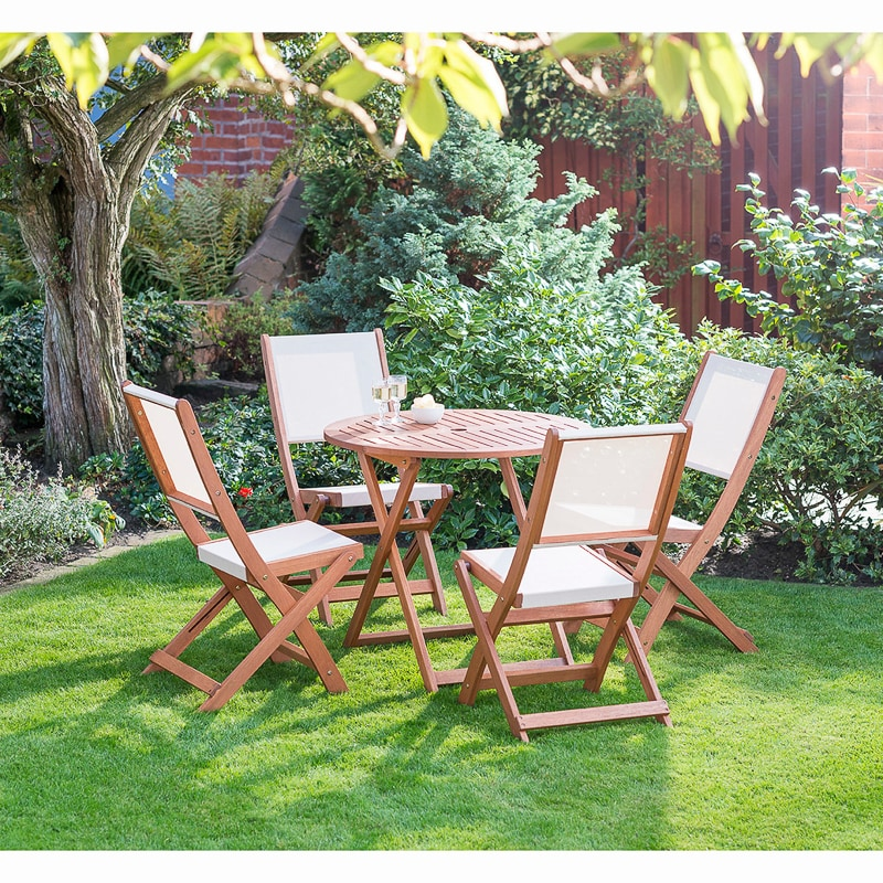 Jakarta 4 seater patio set garden furniture b m for Outdoor furniture jakarta