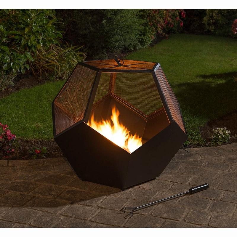 331415 Montreal Hexagonal Firepit 2