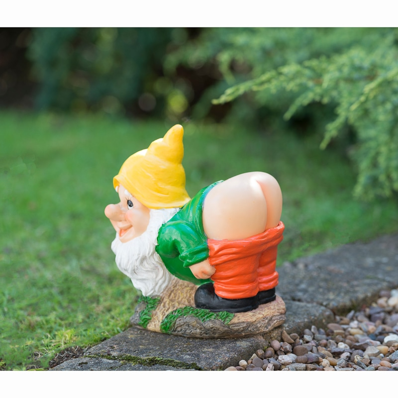 331454-solar-mooning-garden-gnome-yellow Home Wiring Colours on