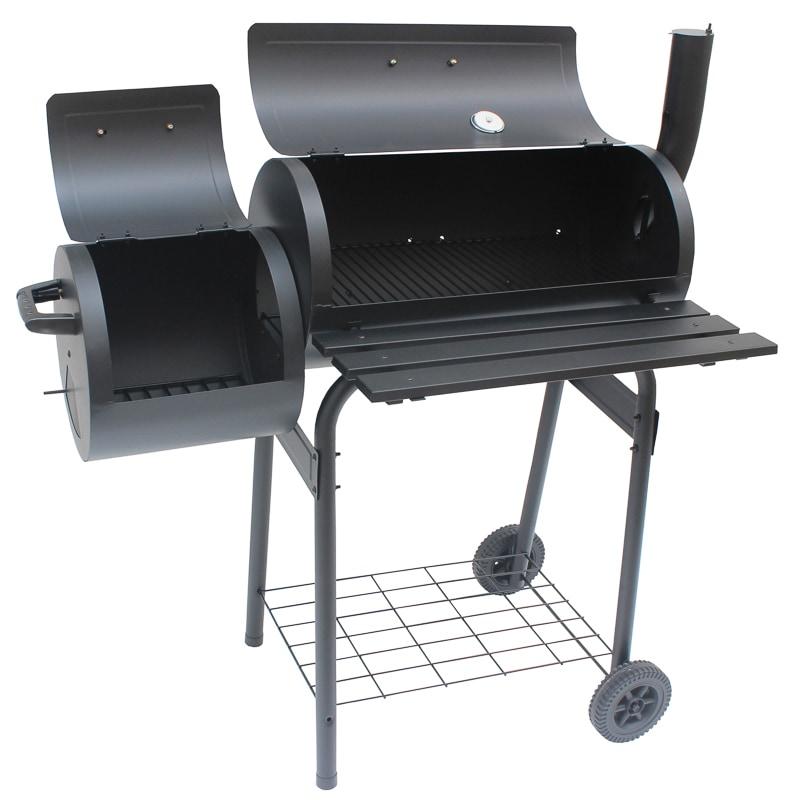 Alabama Steel Barrel Charcoal Smoker Amp Bbq Alfresco