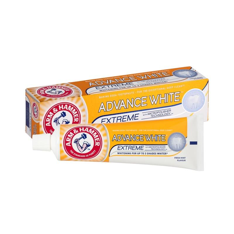 Arm Amp Hammer Advance White Toothpaste 75ml Dental Care B Amp M