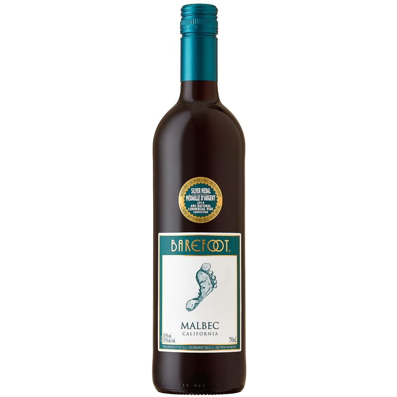 Barefoot Malbec California Red Wine 75cl