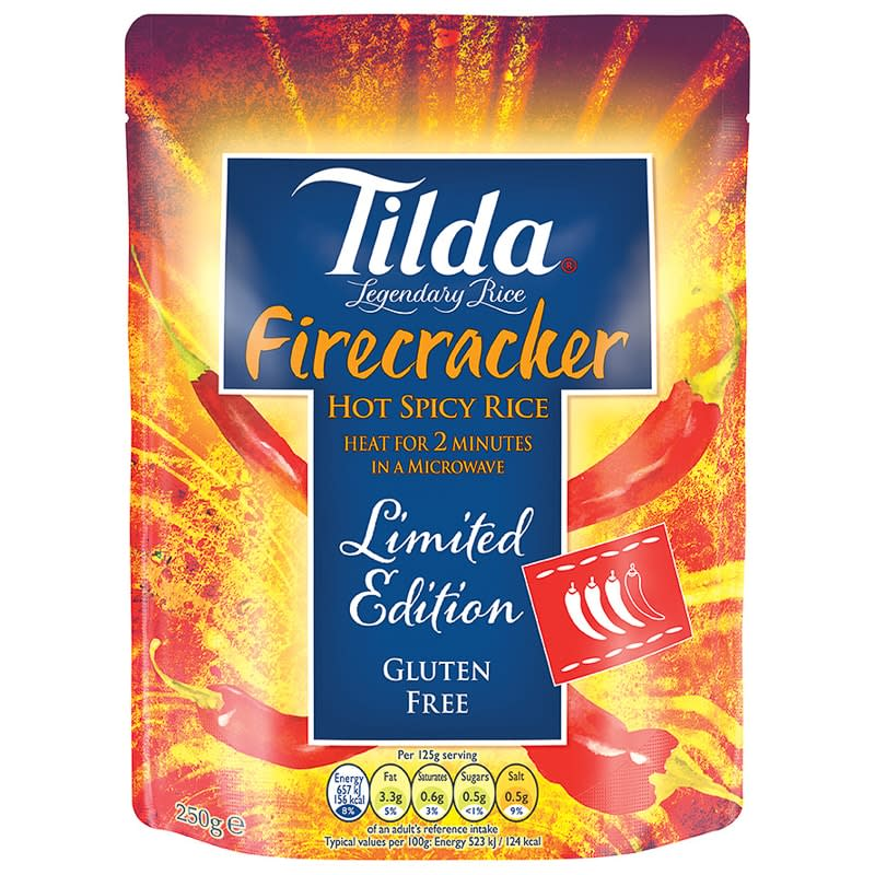 Tilda Firecracker Hot Spicy Rice 250g
