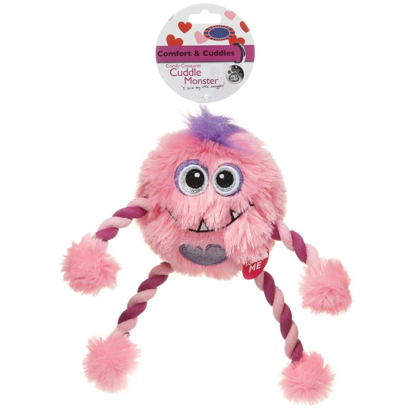Comfort Amp Cuddles Cuddle Monster Toy Pets Dog Toys B Amp M