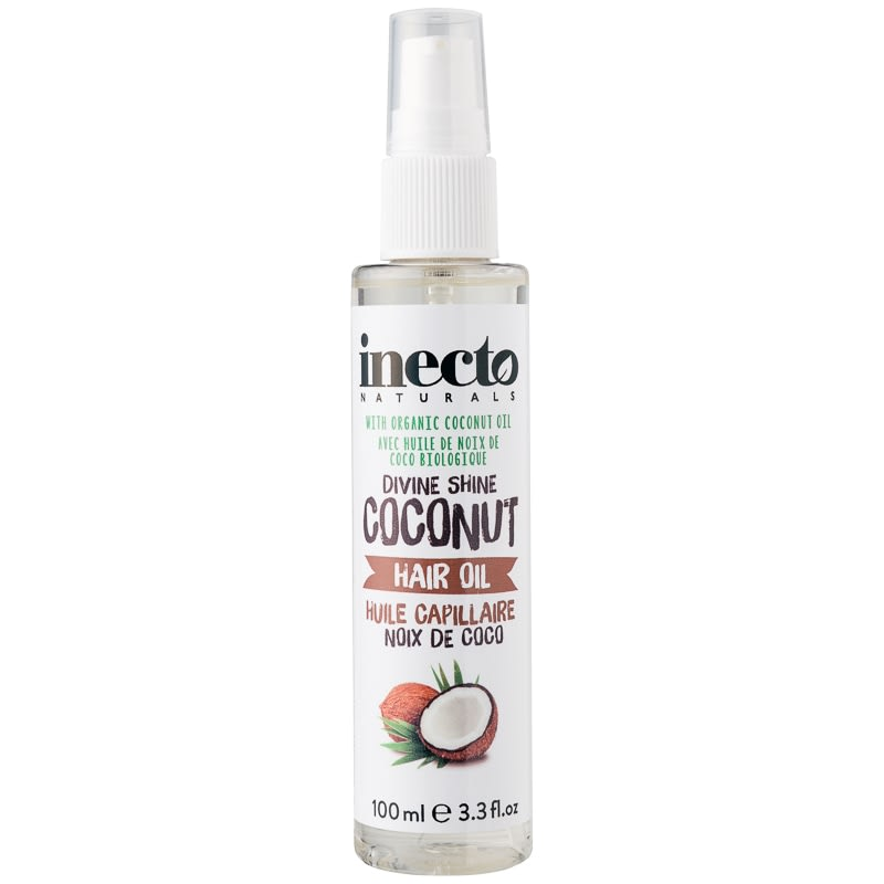 Inecto Naturals Divine Shine Coconut Hair Oil 100ml
